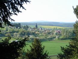 Blick auf Stepfershausen