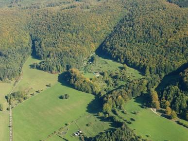 Im Beertal bei Fischbach sind relativ abgelegene, aber naturschutzfachlich wertvolle Flächen zu finden. (Foto: D. Stremke, 2006)
