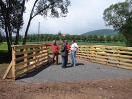 Bauabnahme der Schafbrücke bei Neidhardtshausen