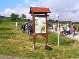 ... wie die Betreuung von Veranstaltungen am Schäferweg bei Oberkatz (KG6) (Foto: LPV)