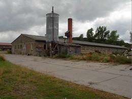Geländeansicht vor dem Abriss der alten Stallungen durch die Agrargesellschaft Herpf (Foto: A. Leipold)
