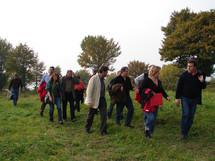 Exkursion mit mit dem Beirat des Biospärenreservats ins Kerngebiet 6 (Foto: J.Gombert)