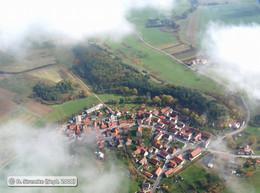 Schrägbildluftaufnahme mit Blick auf den Lämmerberg bei Gerthausen (KG6)